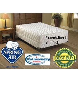 Spring Air Laurel Firm Mattress Set