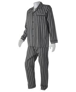 Majestic Men's Cotton Striped Pajamas