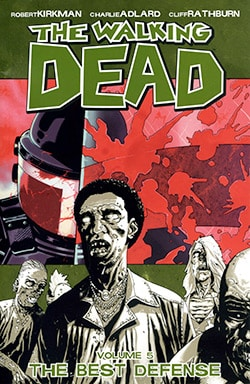 The Walking Dead 5: The Best Defense (Paperback)