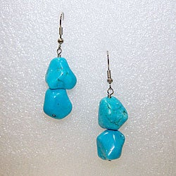 Turquoise earrings (Set of 2)