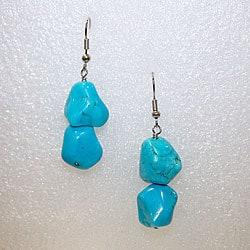 Turquoise earrings  (Set of 2)