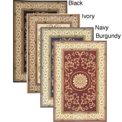 Nicole Palace Machine-woven Heat-set Emerlen Rug (5'5 x 8'3)