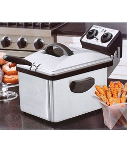 Waring Pro Deep Fryer with 3 Fryer Baskets