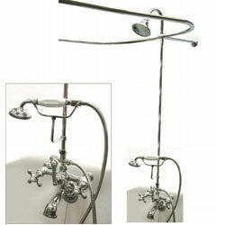 Chrome Complete Clawfoot Tub And Shower Package 10369928 Sh