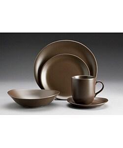 studio nova domani bronze 20 piece dinnerware set overstock