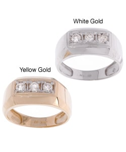 Men's 10-kt Gold 1/2-ct TW Diamond Ring