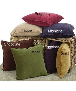 Velvet Throw Pillows (Set of 2)