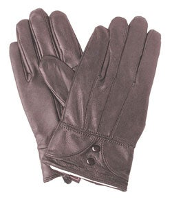 Adi Designs Women&#39;s Leather Two-button Gloves