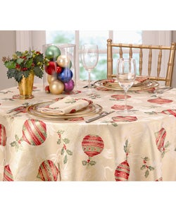 Christmas Charm Tablecloth and Napkin Set