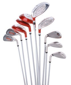 Delta Ladies' Left Handed Pro Hybrid Golf Club Set