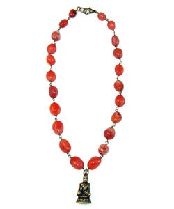 Inner Peace Buddha Necklace (India)