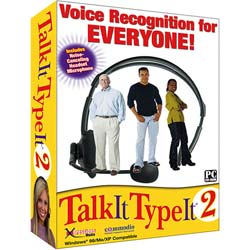 Talk It Type It 2 Standard Software