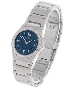Movado Viro Women's Blue Dial Steel Watch