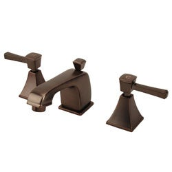 Bronze Bathroom Faucets on Fontaine Oil Rubbed Bronze Widespread Bathroom Faucet   Overstock Com