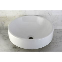 Vitreous China White Vessel Lavatory