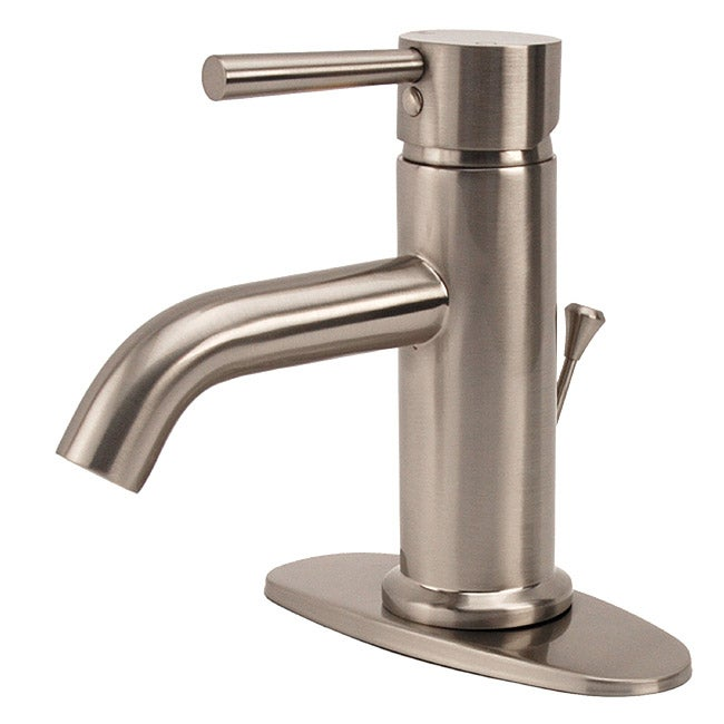 Fontaine Riviera Brushed Nickel Centerset Bathroom