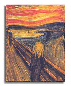 edvard munch the scream analysis essay Edvard munch's portrait of existential angst is the second most famous image in art history – but why what is the meaning of the scream.