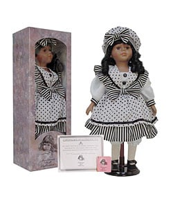 Chantelle Porcelain 16-inch Collectible Doll