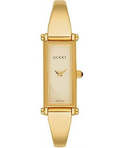 Gucci 1500 Women's Petite Size Bangle Watch