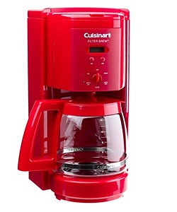 Thermal Coffee Maker Red : Cuisinart 12 Cup Programmable Red Coffeemaker - 10509425 - Overstock.com Shopping - Great Deals ...