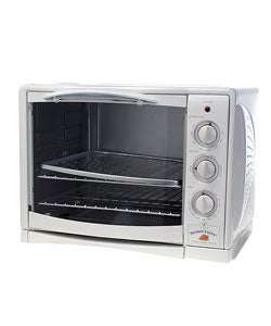 Kitchenaid Countertop Convection Oven Youtube : ... TOB-135 Brushed Stainless Steel Deluxe Convection Toaster Oven Broiler