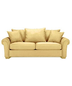 Miami Butter Sofa 10514540 Overstock Com Shopping