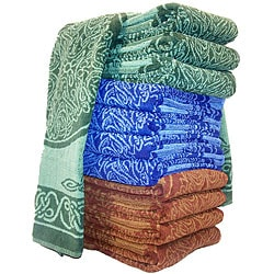 Handmade Cotton Celtic Towel (India)