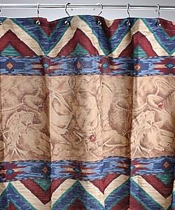 Laredo Cowboy themed Shower Curtain Overstock