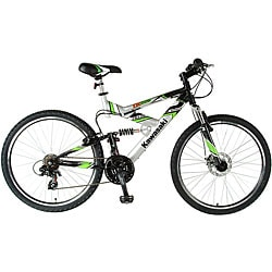 Kawasaki 26-inch Dual Suspension Mountain Bike