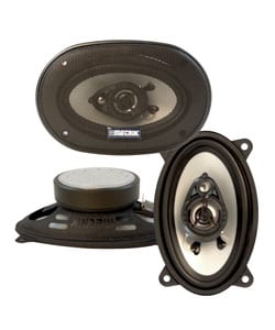 Metrik 4 x 6-inch 220-watt 3-way Car Speakers