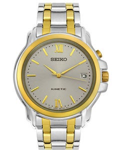 Seiko Men's Kinetic Two-tone Watch