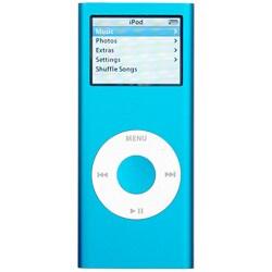 Apple iPod nano 4GB 2nd Generation Blue (Refurbished)