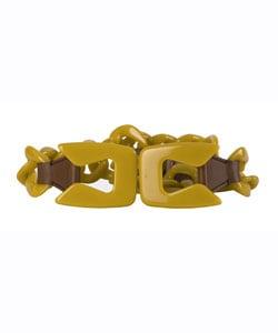 Prada Yellow Plastic Chain Belts - 10580015 - Overstock.com ...