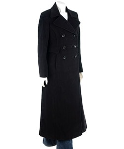 DKNY Double Breasted Maxi Coat