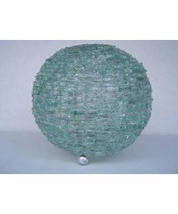 Natural Glass Ball Lamp