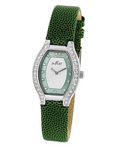 August Steiner Swan Women's Crystal Watch