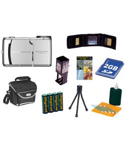 Nikon Coolpix S4 6MP Digital Camera + Bonus Kit (Refurb)