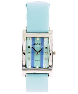 Gossip by Croton Women's Light Blue Fashion Watch