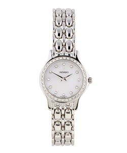Movado Collection Women's White Gold Diamond Watch