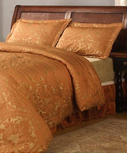 Halifax 4-piece Rust Comforter Set