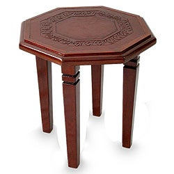 Leather Memories Accent Table (Peru)
