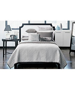 Modern Home Grey Quilt Set