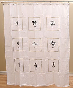 Asian Shower Curtains Curtains Blinds