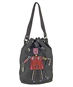 Prada Robot Motif Nylon Shoulder Bag