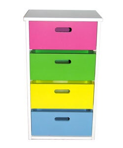 Multi-colored Children's Cupboard