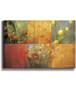 Citrus Garden by Li-Leger Stretched Canvas Artwork
