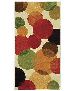Safavieh Fine-spun Bubbles Cream/ Multi Area Rug (2'7 x 5')