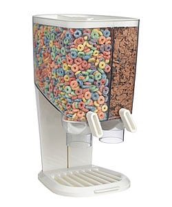 EZ-Serv Ross Double Cereal Dispenser