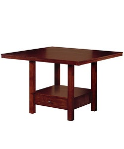 Aiden Dining Table with Drawer Base