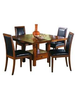 Aiden Dark Chocolate 5-piece Dining Set | Overstock.com Shopping